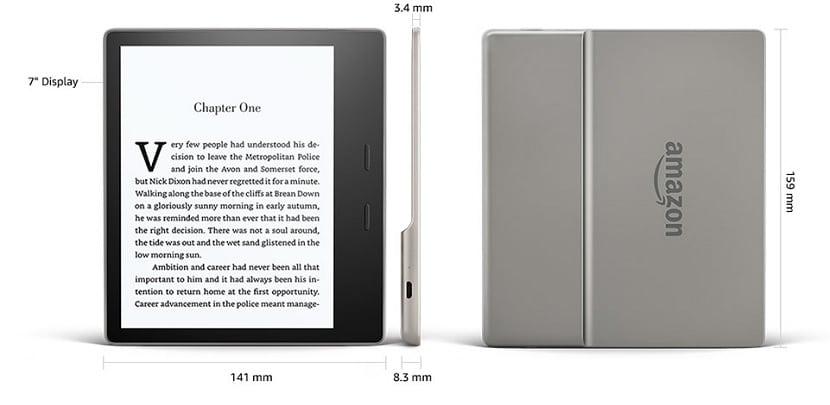 Dimensiones del Kindle Oasis