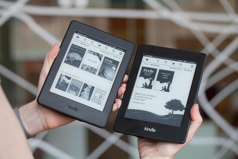 Kindle paperwhite con pantalla iluminada