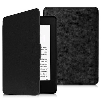 Funda de cuero Kindle paperwhite