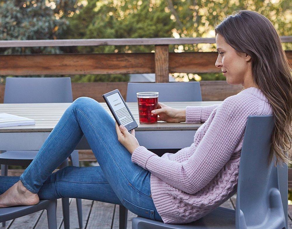 Lectura con Kindle